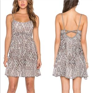 FREE PEOPLE Periscopes in the Sky Babydoll Dress